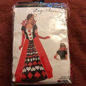 Leg Avenue deluxe Queen of Hearts plus extras